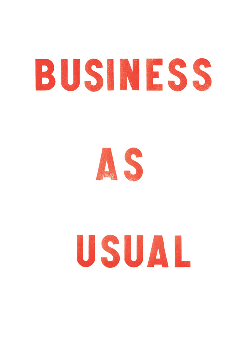 Business as Usual WEB