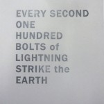 James Hoff: Every Second One Hundred Bolts of Lightning Strike the Earth