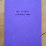 Allison Grimaldi Donahue: Body to Mineral